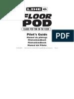 Floor POD User Manual - Spanish ( Rev a )
