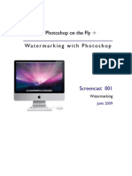 001-Watermarking With Photoshop