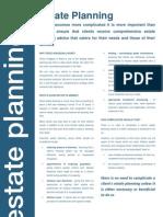 Estate Planning Brochure