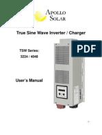 Apollo True Sinewave Inverter Manual 11-11-09