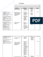 Planificación Anual - Detallada
