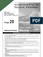 Cargo 20 - Odontologo
