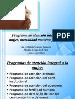 Programa de atención integral a la mujer,gaby