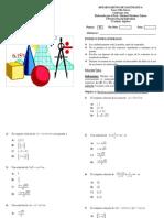 1° Práctica de Matemática Algebra 11° Año