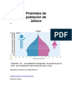 Pirámides de población de Jalisco