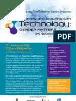 Gender Matters Brochure