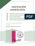 CLASIFICACIÓN ARANCELARIA PRODUCTOS AGRÍCOLAS