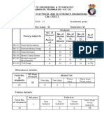 EEE 2011-2012 Even Sem All Cycle Test Result Analysis