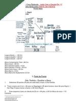 29) Colete Aberto - Decote V - 3 Fios Lã Industrial HB Fios Amparo 2/28 - Cava Redonda PARTE FRENTE-T-50 / 52