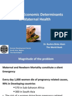 Alam_Determinants of Maternal Health in Asia