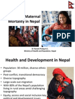 KC_Maternal Mortality Reduction in Nepal