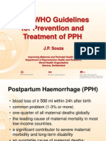 Souza_New WHO PPH Guidelines