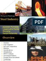 30189911 Steel Industry in India