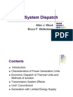 Power System Dispatch
