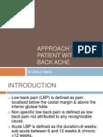 Low Back Ache