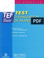 TEF Test d'Evaluation Francais