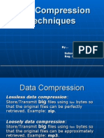 Data Compression Techniques