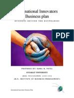International Innovators Business Plan