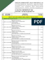 Bang Gia Plc Siemens s7 200