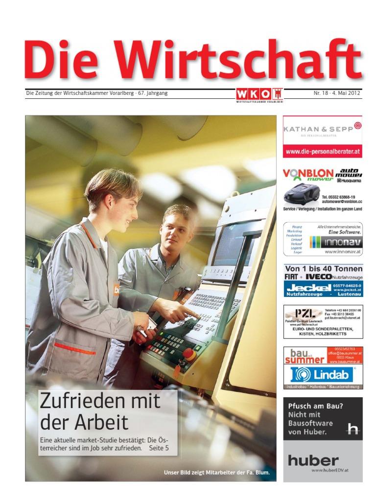 Die Wirtschaft 4 Mai 2012