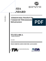 TIA EIA 606 a Administration Standard for Commercial Telecommunications