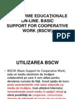 Platforme Education Ale on-line BSCW
