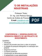 CONFERENCIA 1. PROJETO DE INSTALAÇÕES INDUSTRIAIS