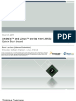 Adeneo Freescale Linux Android iMX53QSB Training