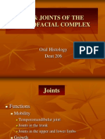 Joints of Craniofacial Complex