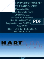 Highway addressable remote transducer