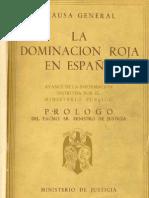 La dominación roja en España