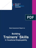 Building Trainers Skills