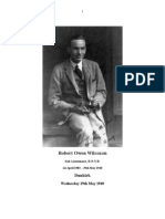 Robert Owen Wilcoxon. An account of the last days at Dunkirk and the story of the  heroic men and the `little ships`