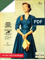 Burda Moden August 1953