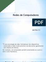 Redes de Computadores - Abrangencia Geografica