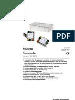FDCIO223 Transponder A6V10062625 Hq En