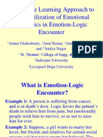 Lecture 5 Emotion Logic Encounter