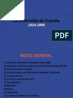 La economía española desde 1800-1868