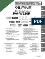 Alpine Radio 2 Din_IVA-W520R