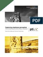 Capturing Employee Perception FINAL