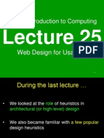 Web Design for Usability