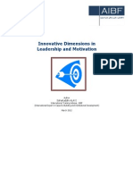 Innovative Dimensions in Leadership and Motivation Formated
