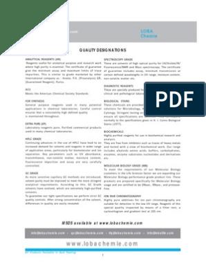 Lobachemie Price List 2011-12 | Agarose Gel Electrophoresis