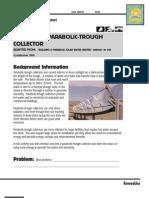 Parabolic Trough Design