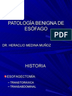 1. Patologia Benigna de Esofago