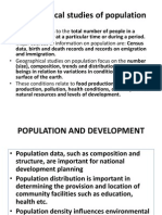 Lecture 6 GEOG 102, Population