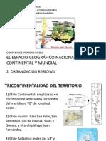 1M - 2. Organización regional