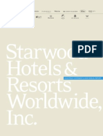Starwood Hot 2008 Annual Report