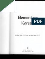 Elementary Korean - Ross King, Jae-Hoon Yeon