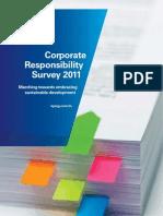 2011 Kpmg Corporate Responsibilty Survey Report